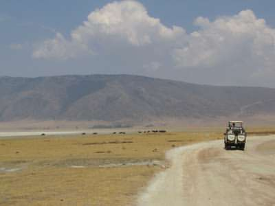 Safari holidays to Tanzania - the Ngorongoro Crater