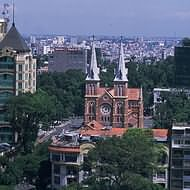 Holidays to Vietnam - Saigon's Notre Dame Cathedral